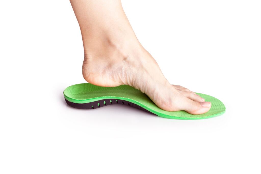 indywidualne wkładki z włókna węglowego do butów
